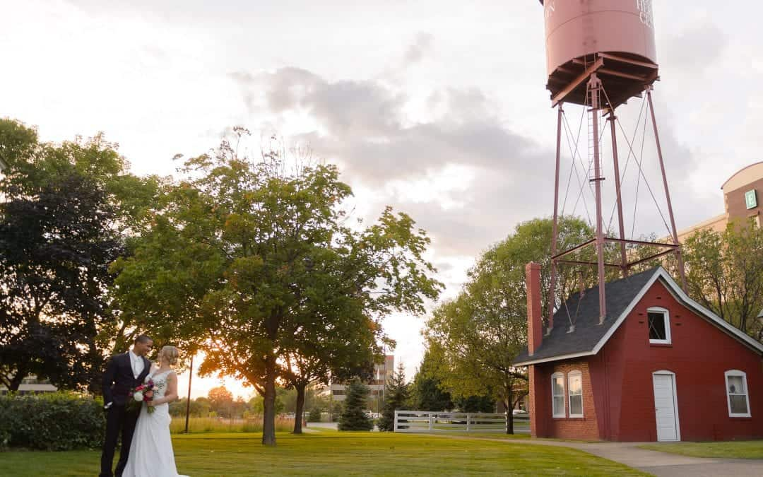 Picture-Perfect Wedding Memories Courtesy of Earle Brown Heritage Center