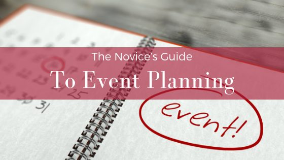 The Novice's Guide to Event Planning