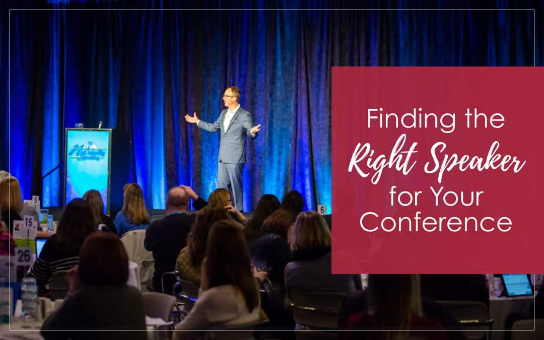 Finding the Right Speaker for Your Conference