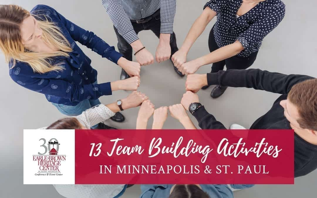 13 Fun Team Building Activities in Minneapolis and St. Paul