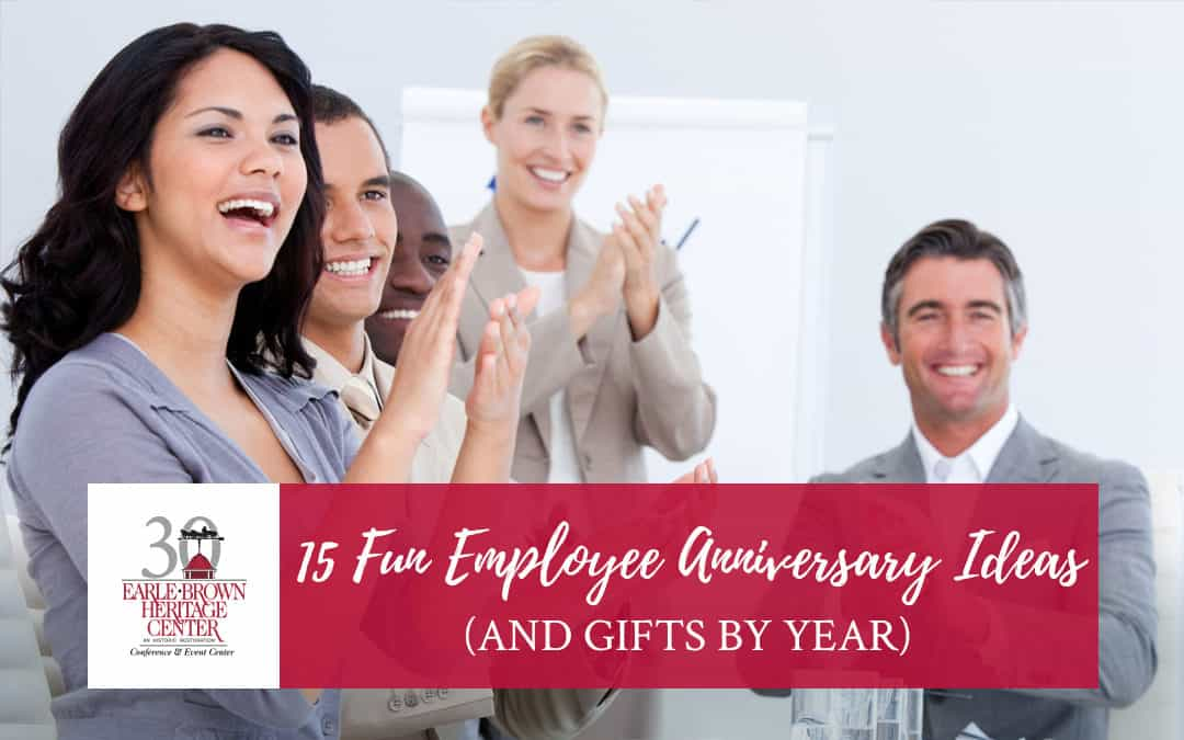 15 Fun Employee Anniversary Ideas (And Gifts By Year)