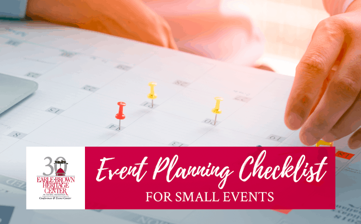 Event Planning Checklist for Small Events