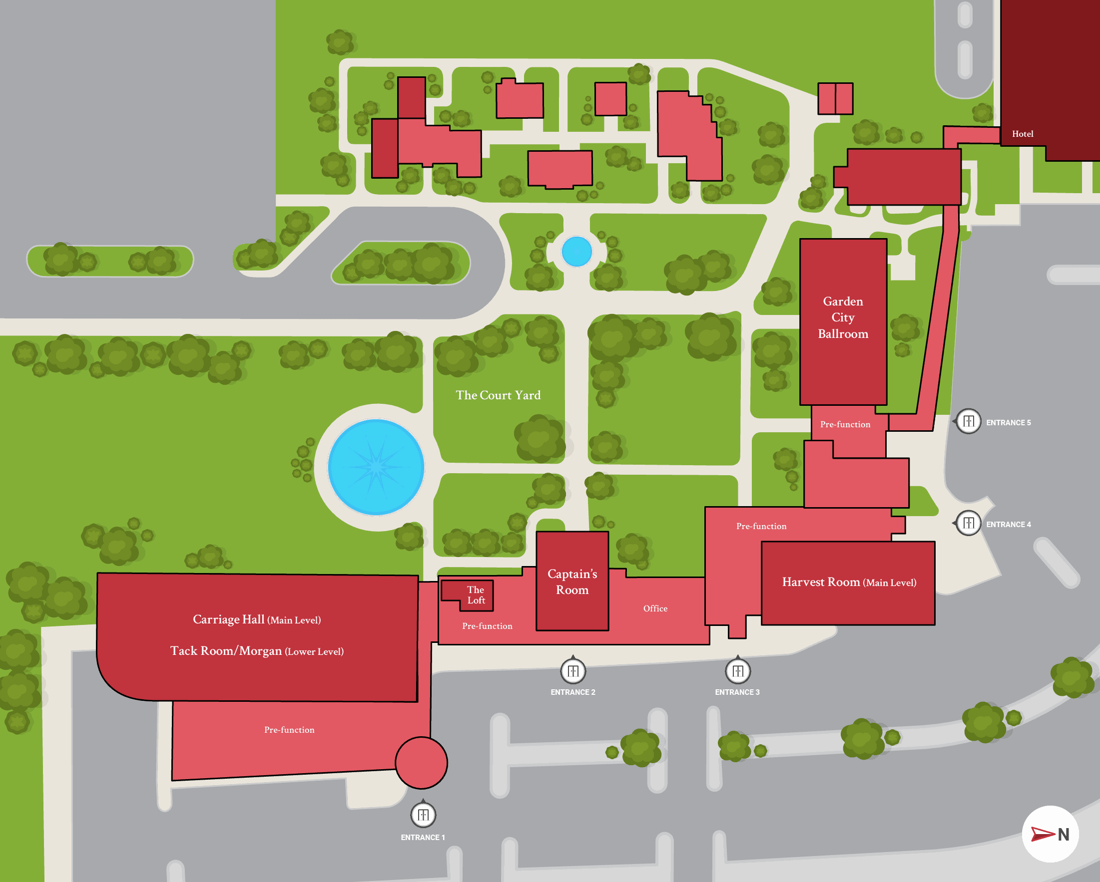 Earle Brown Facility Map