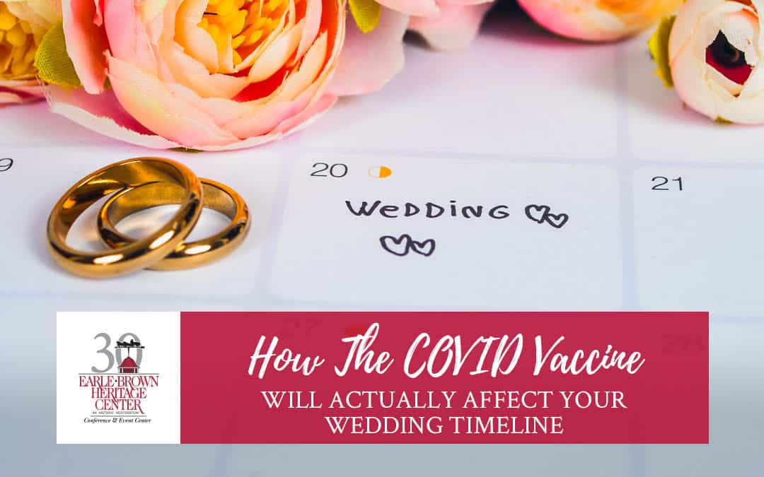 How the COVID Vaccine Will Actually Affect Your Wedding Timeline