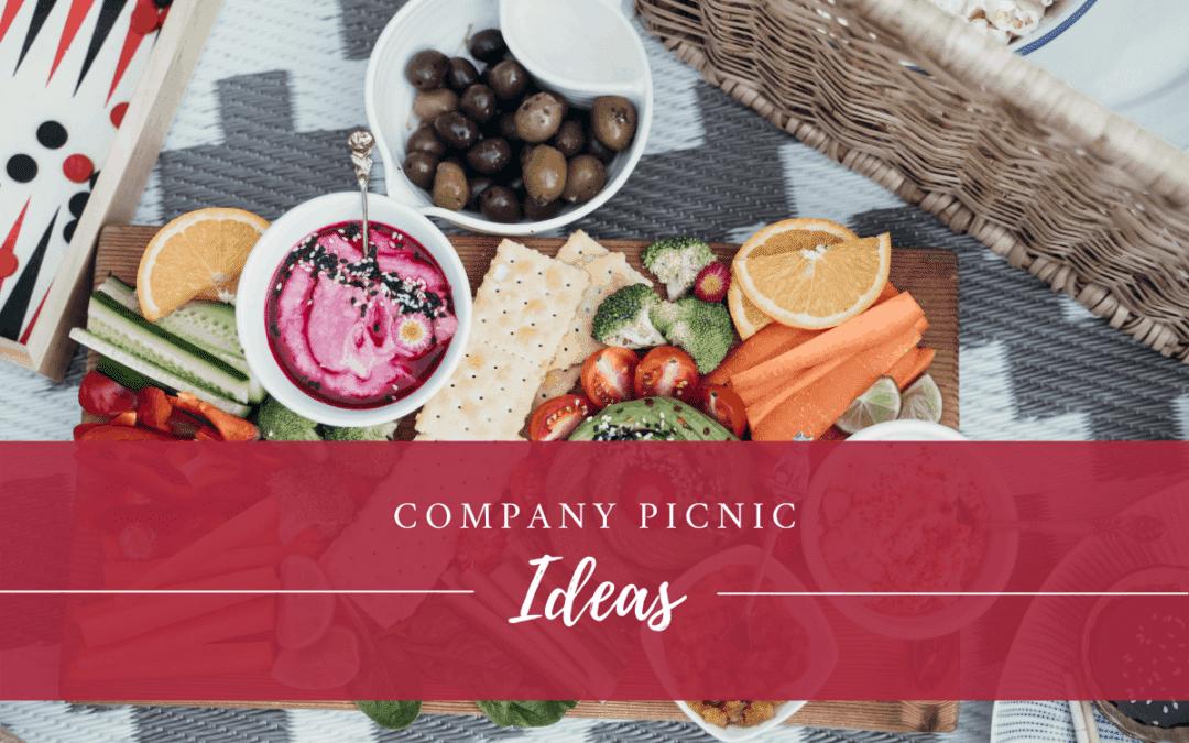 Company Picnic Ideas at Earle Brown
